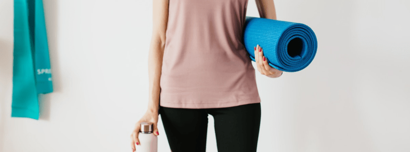 athleisure yoga mat