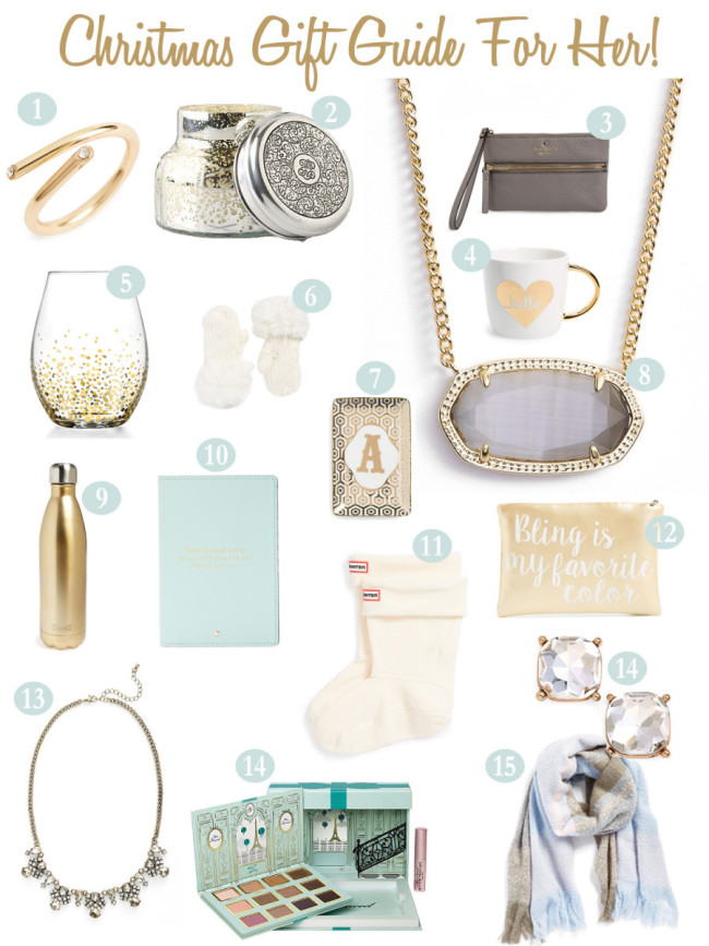 Christmas Gift Guide for her copy