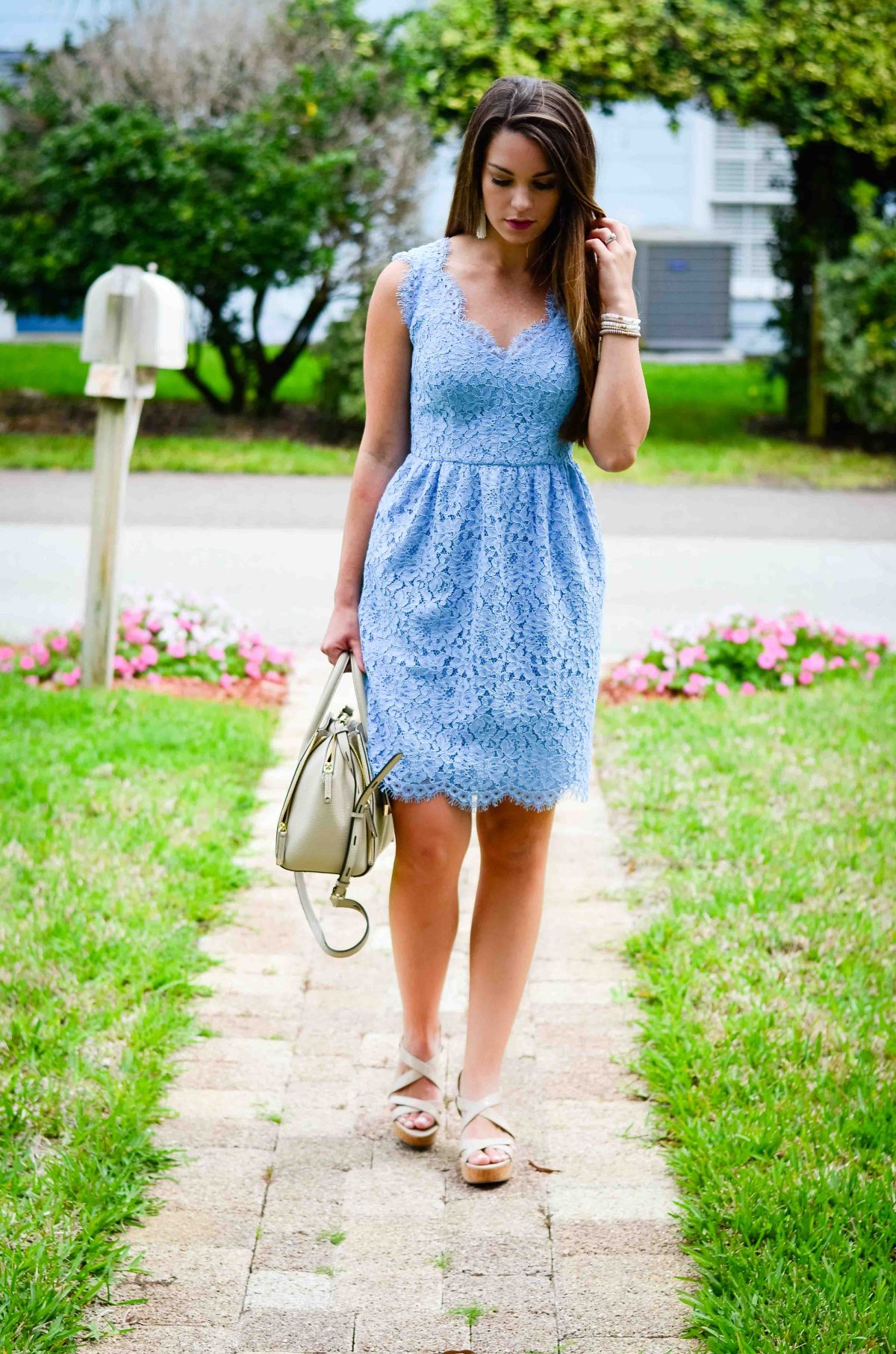 Spring Lace Dress-5