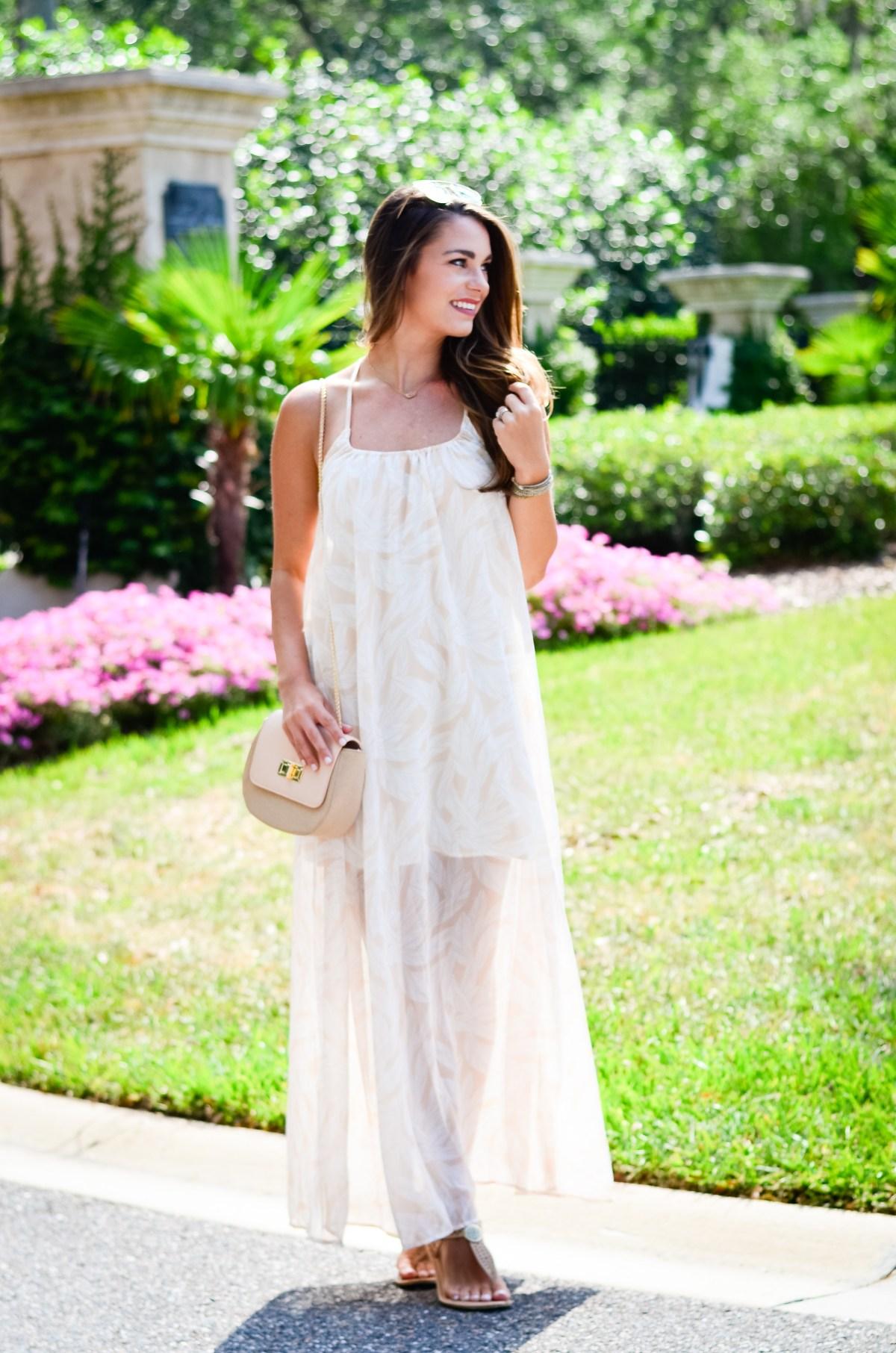 Dallas Print Maxi Dress-11