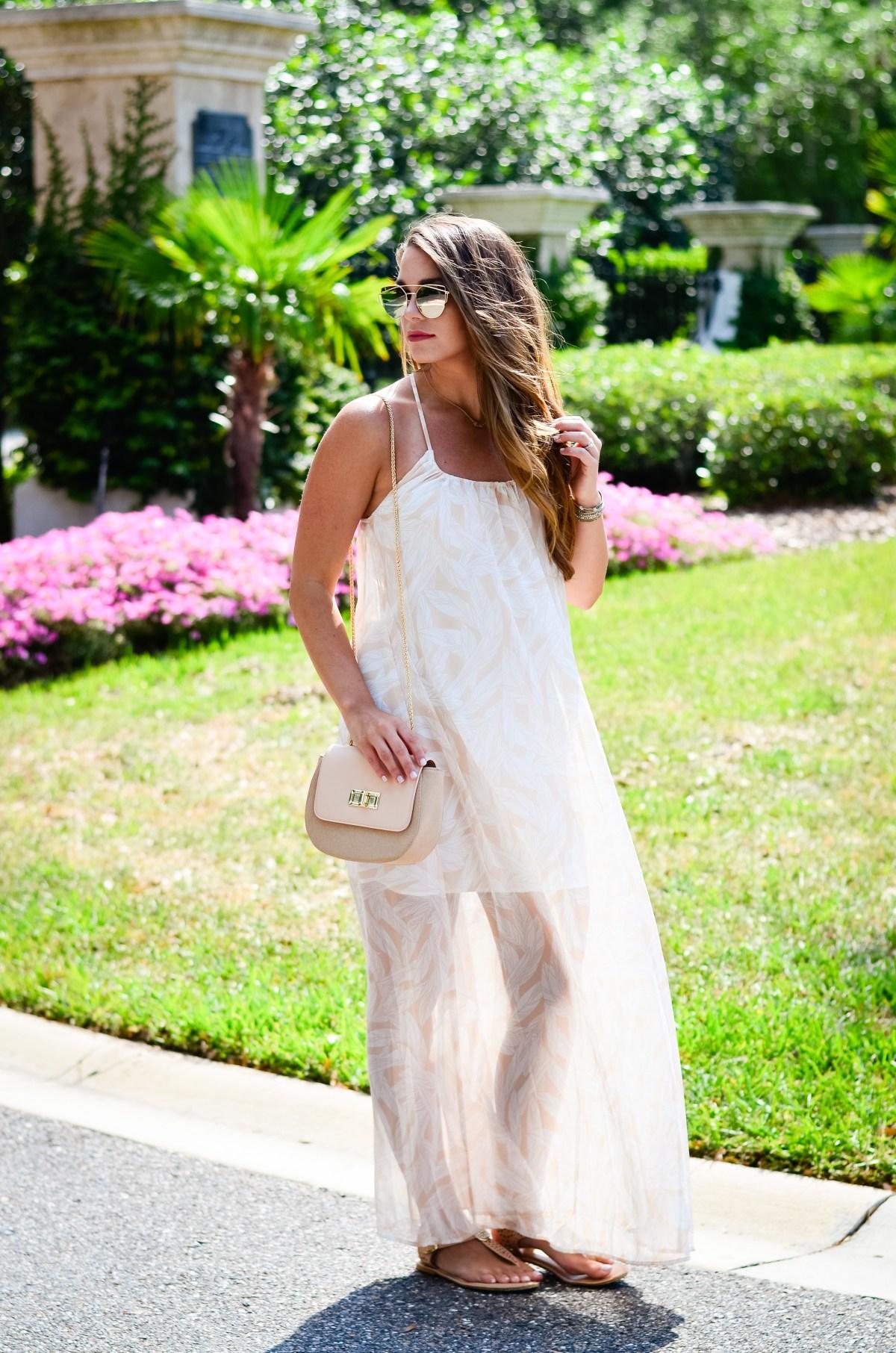 Dallas Print Maxi Dress-9