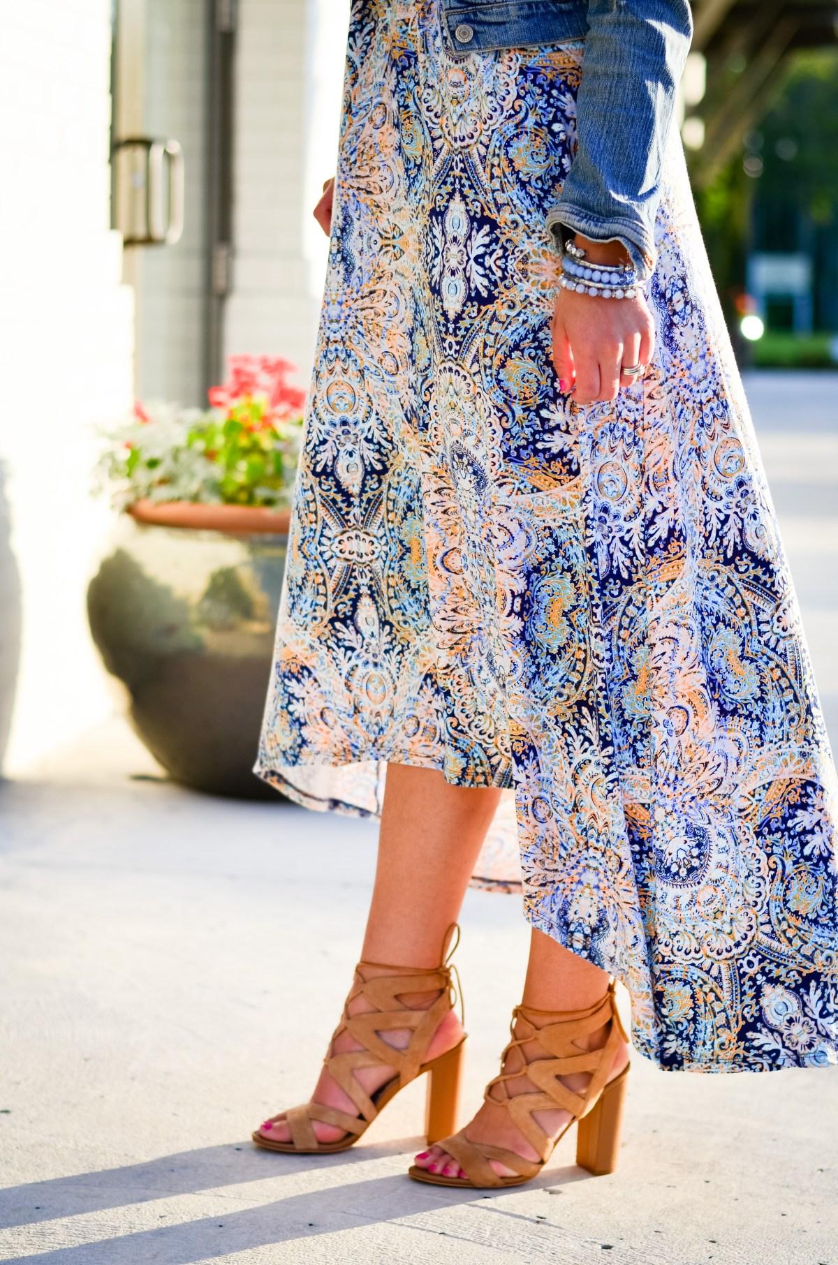 Paisley Maxi Dress-1