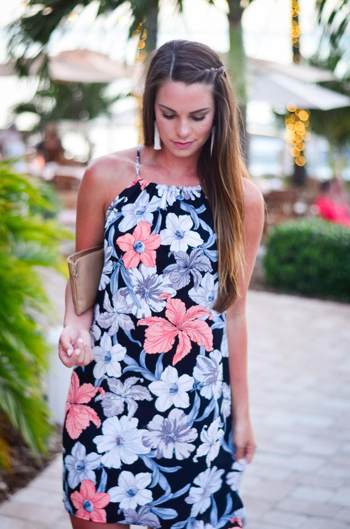 Goldfinch Floral Dress-2