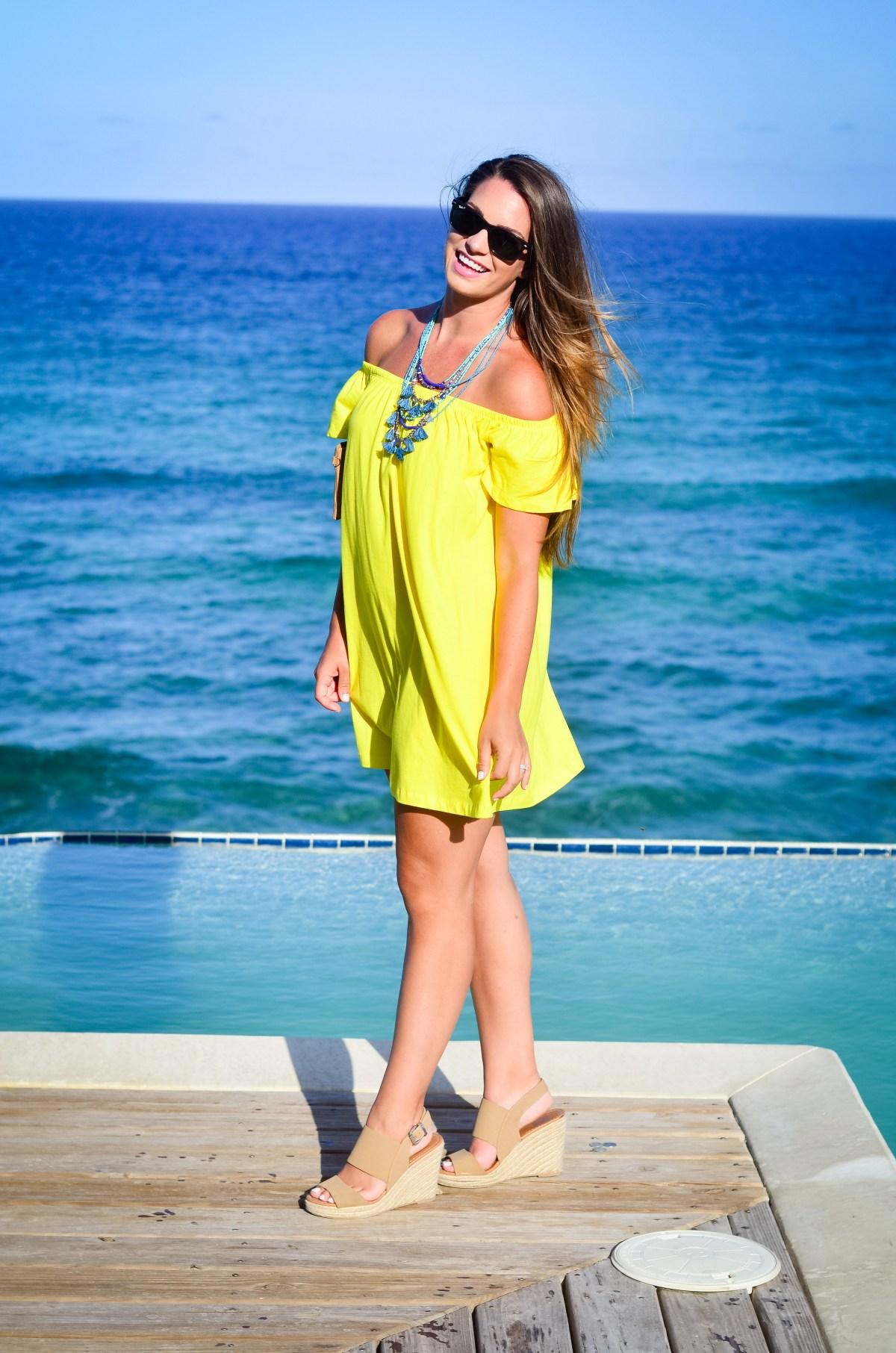 Yellow Asos Dress-8
