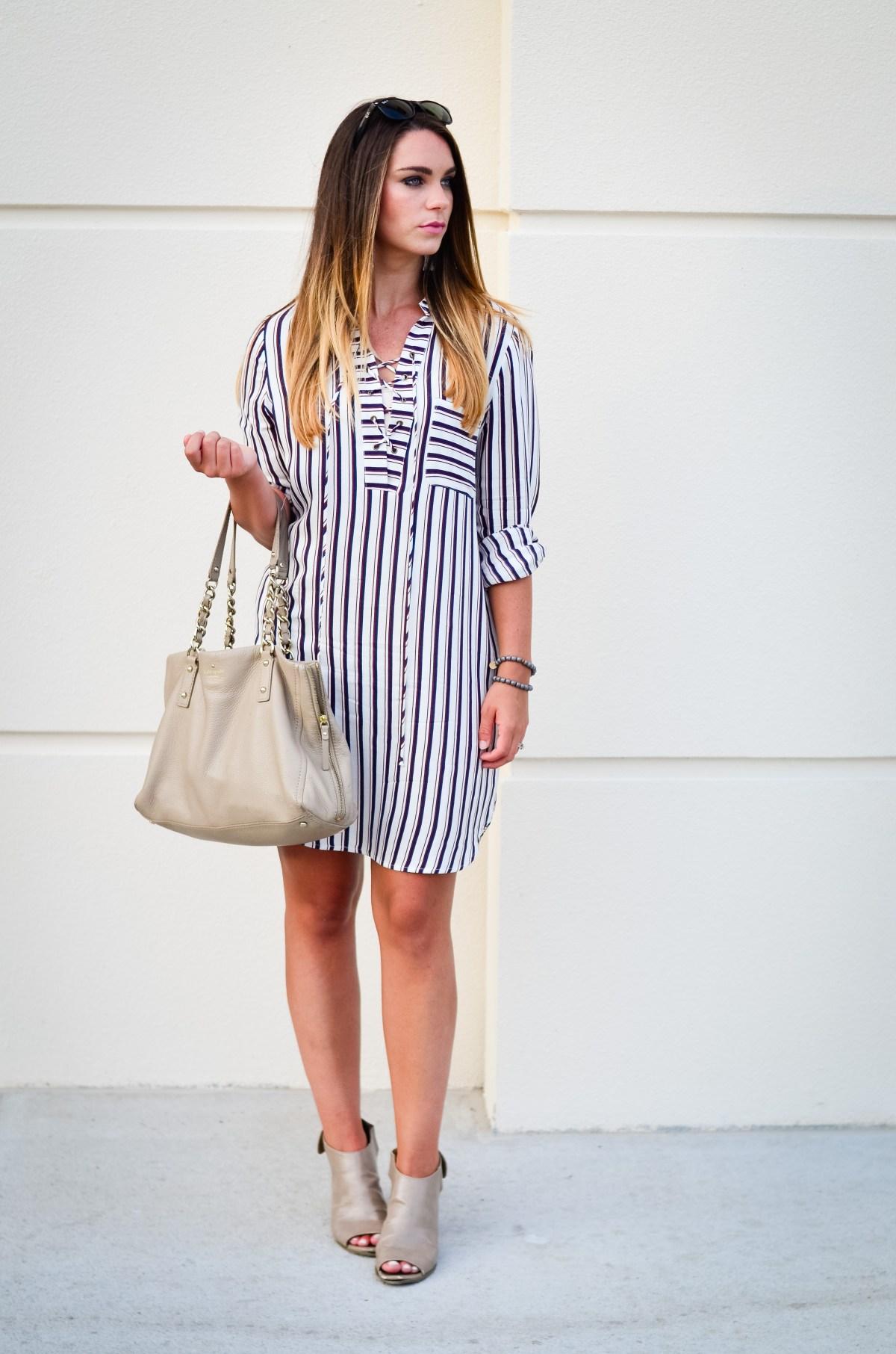 wayf shirt dress -4