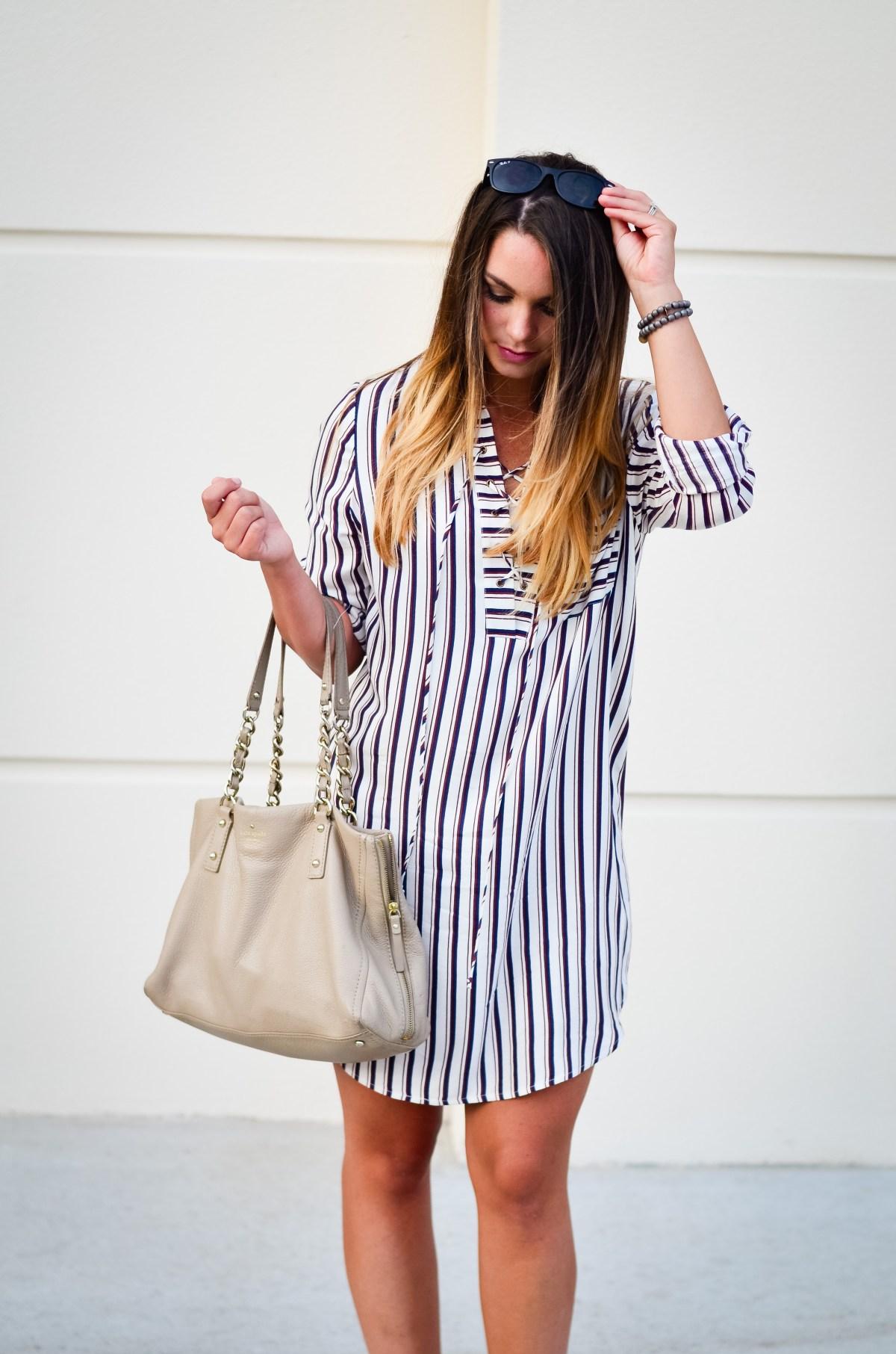 wayf shirt dress -6