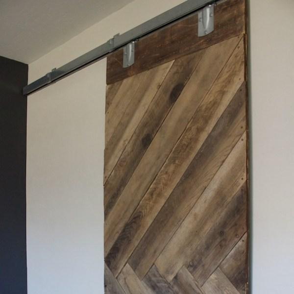 DIY Barn Door for less than $100