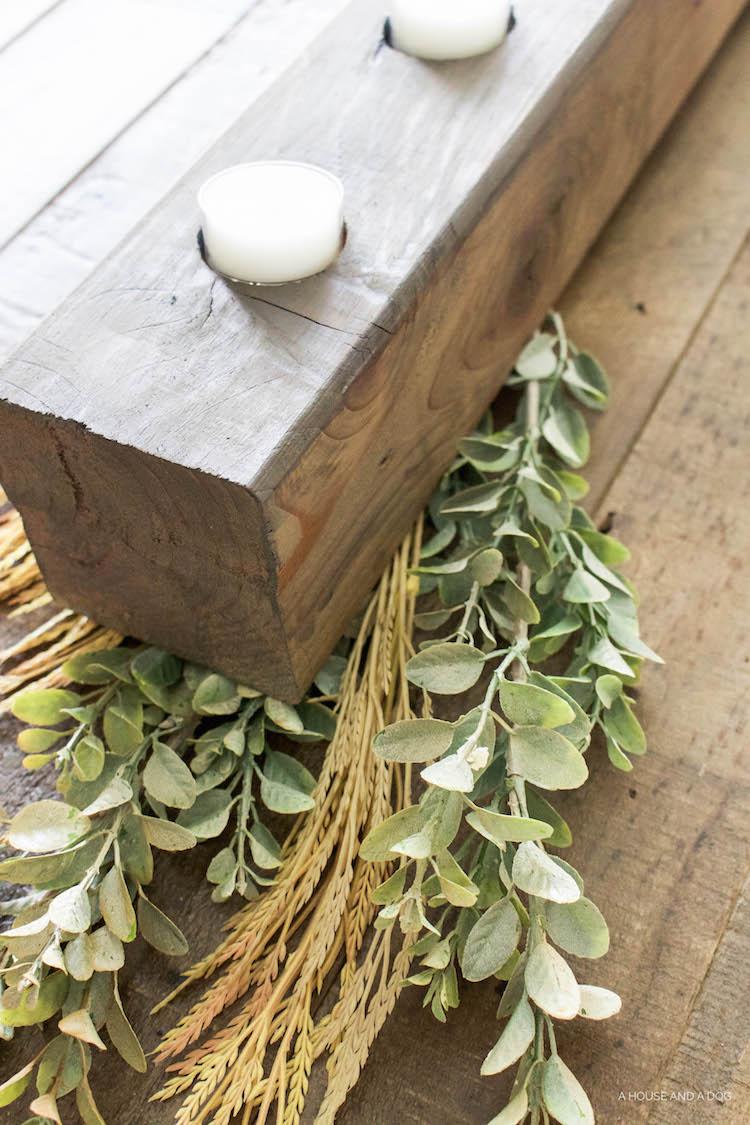DIY Tea Light Holder - simple & fast project!
