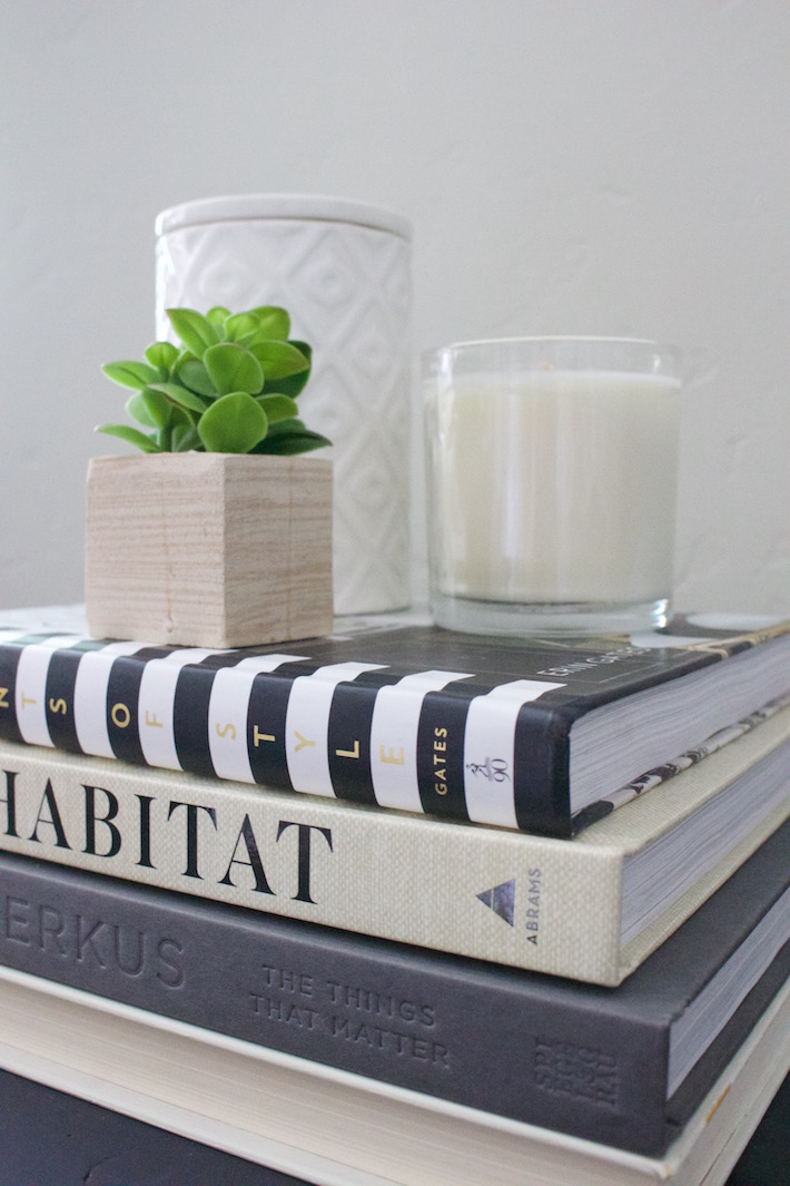 decorating with books & my favorite decor books - hello allison