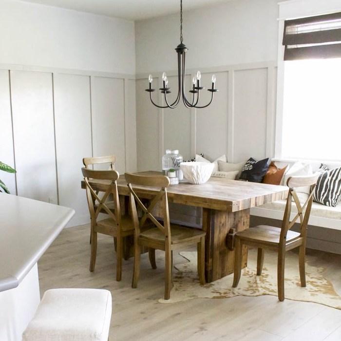 Farmhouse Dining Modern Room: Modern Farmhouse Dining Room