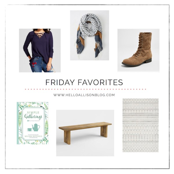 Fall Friday Favorites | helloallisonblog.com