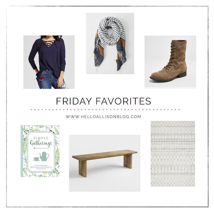 Fall Friday Favorites | helloallisonblog.com