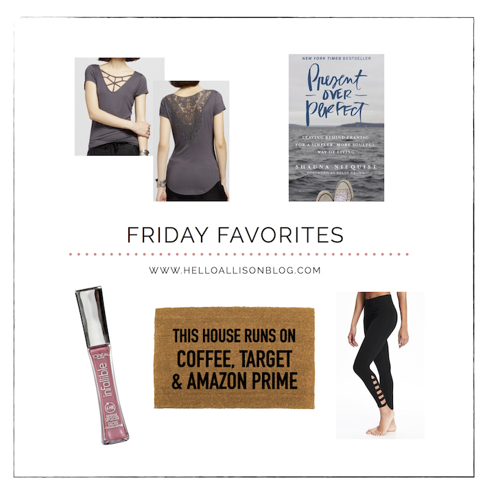 Friday Favorites | helloallisonblog.com