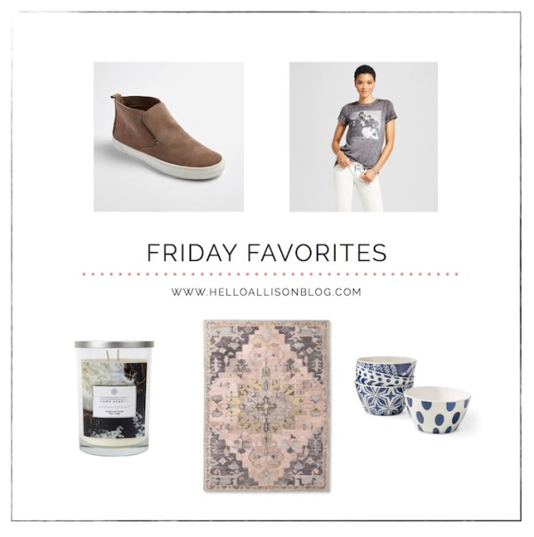 Friday Favorites 017 | helloallisonblog.com