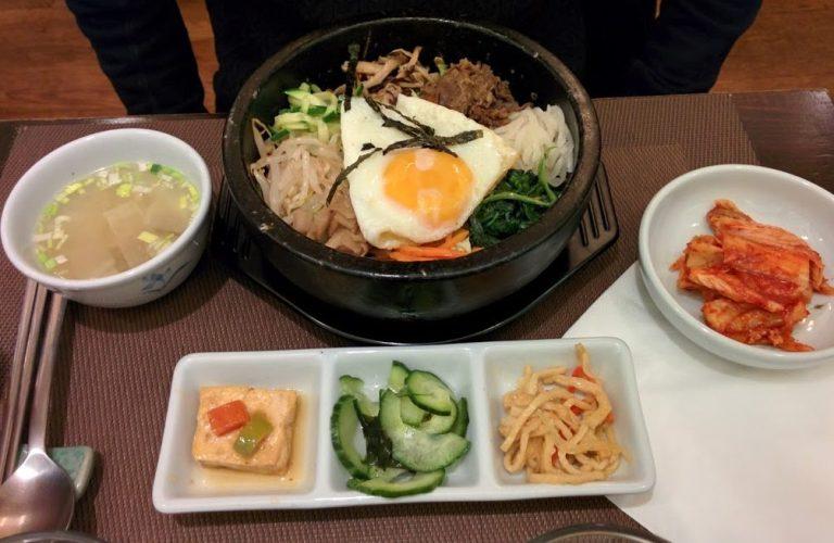 bibimpap boeuf restaurant coréen paris