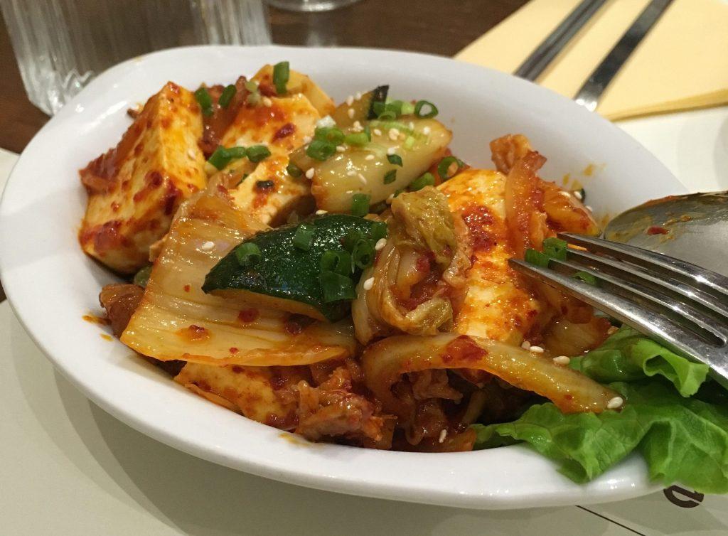 tofu kimchi restaurants coréens à Paris