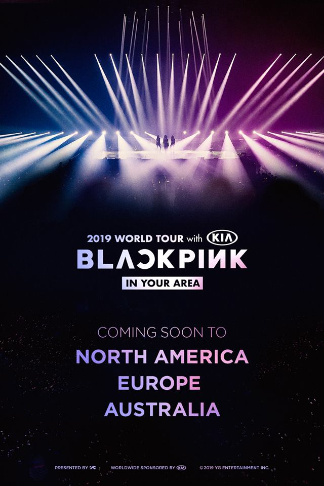 BLACKPINK 2019 WORLD TOUR EUROPE