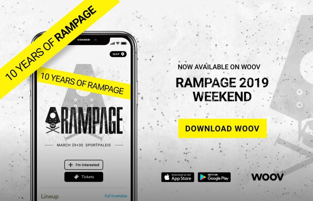 Rampage 2019 app