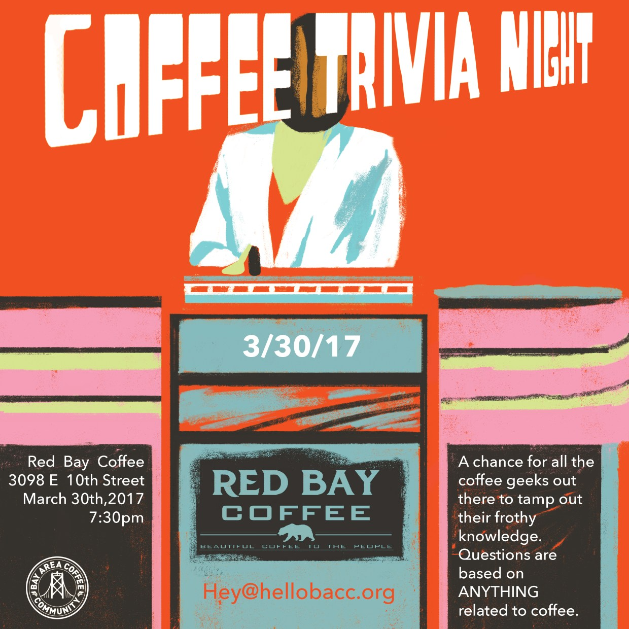 bay area coffee trivia