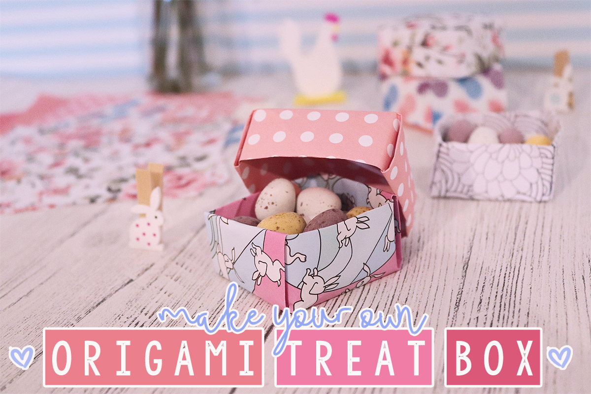 Make Your Own Origami Treat Box
