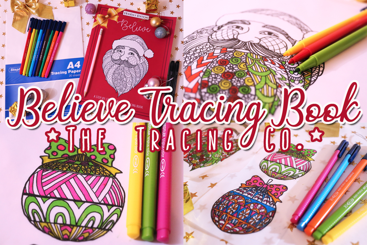 Believe Tracing Book: The Tracing Co.