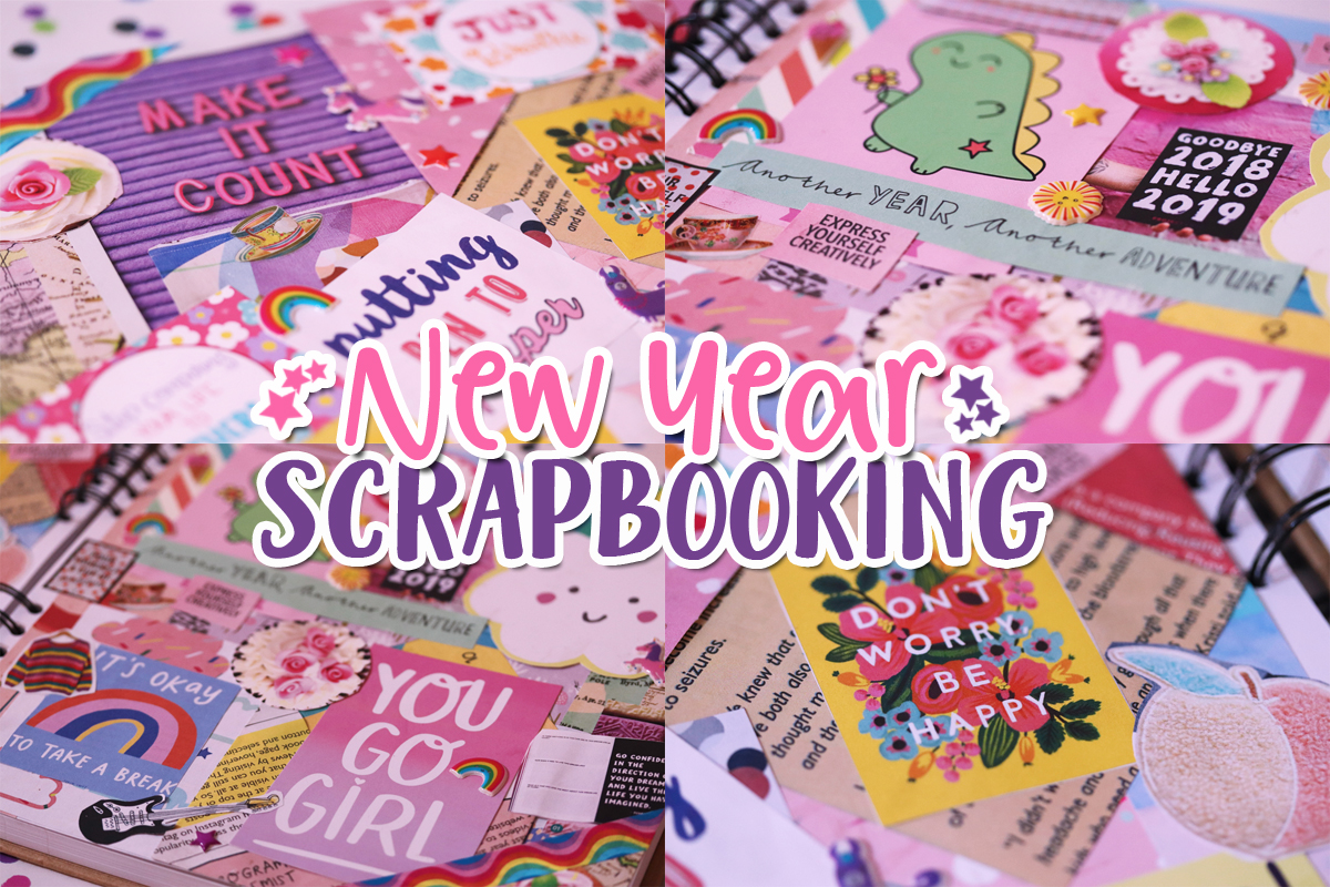 New Year Scrapbooking