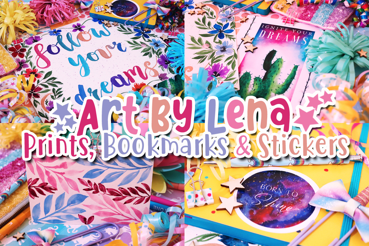 Art By Lena – Prints, Bookmarks & Stickers