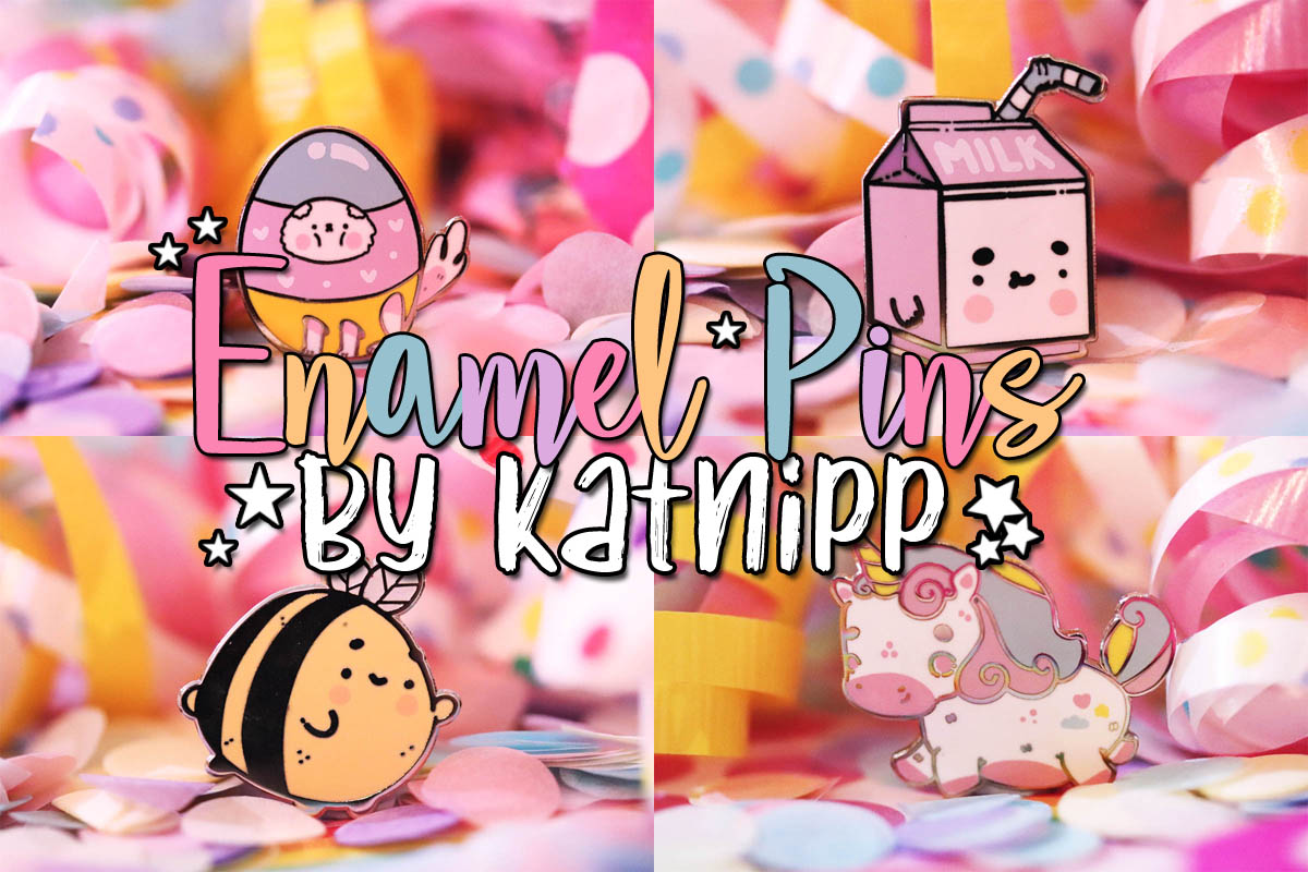 Enamel Pins by Katnipp