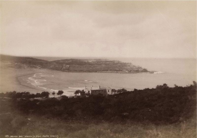Bondi Bay, 1880