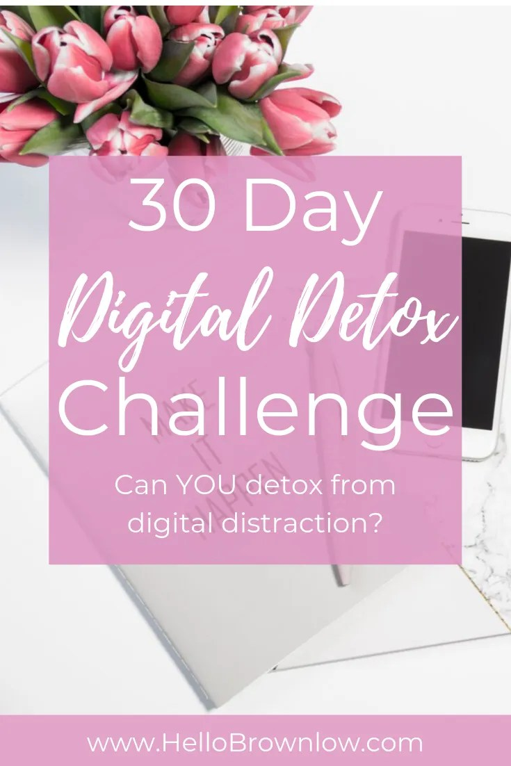 30 Day Digital Detox Challenge