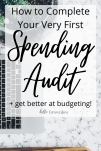 How to Do a Spending Audit #budgeting #adulting