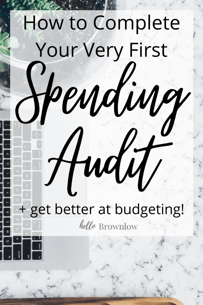 How to Complete Your Very First Spending Audit + Get Better at Budgeting. If you put in the work, you'll be able to save hundreds of dollars every month and have a fabulous budget! #budgeting #budgetingtips #budgetboss #momboss #spendingaudit