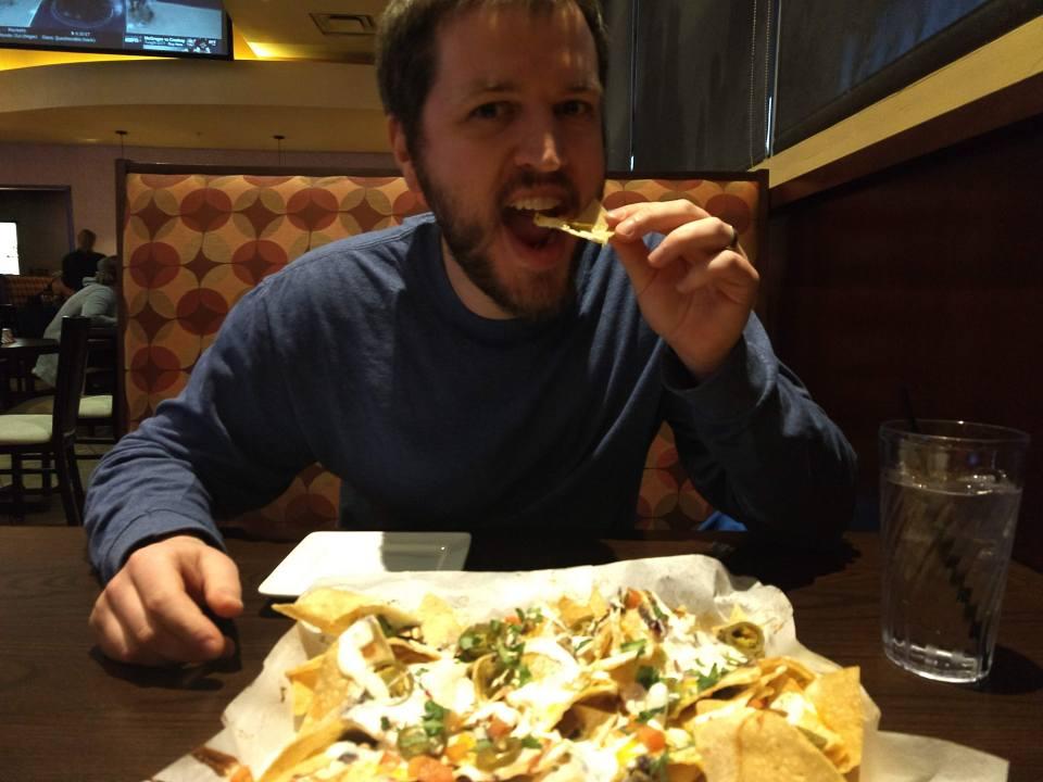 Completely free nachos!