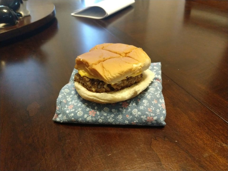 Cheap Meal #7 - Black Bean Burgers