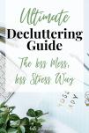 Ultimate Decluttering Guide