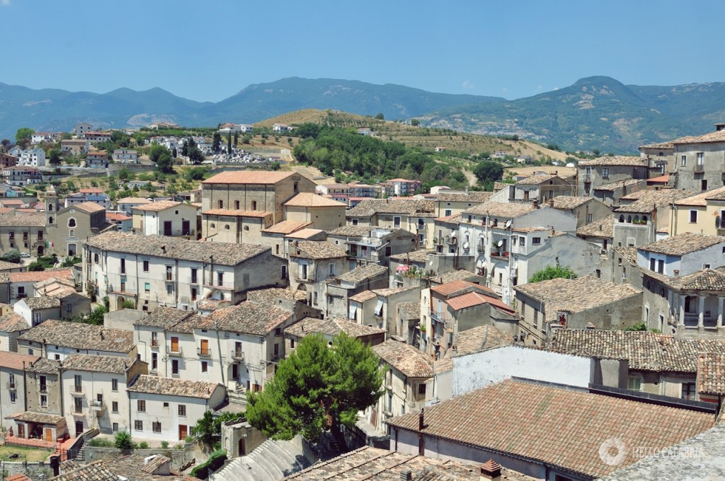 Altomonte, miasto w głębi lądu Kalabrii