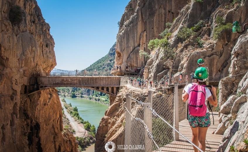 Il Caminito del Rey un sentiero sul precipizio nelle gole dell'Andalusia