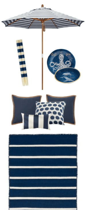 Navy Outdoor Color Strategy