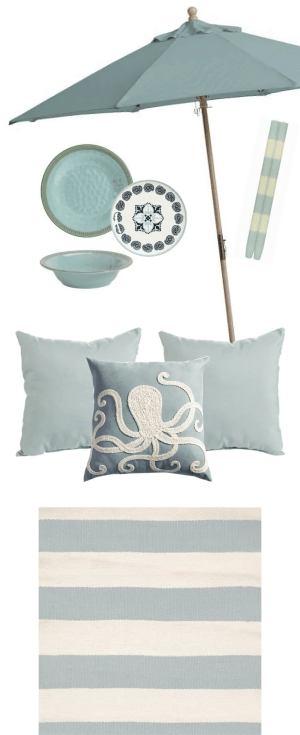 Seafoam Blue Outdoor Color Strategy