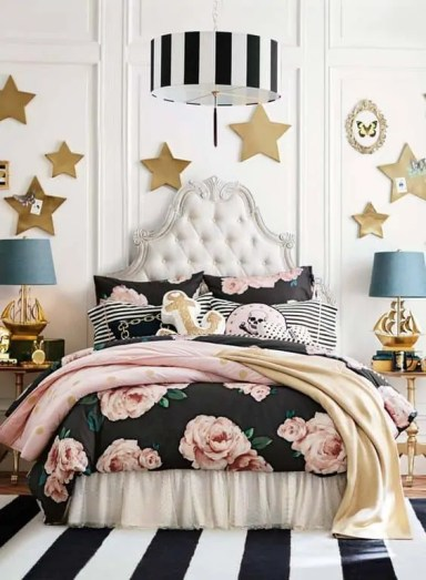 Stars and stripes decor Pottery Barn Teen