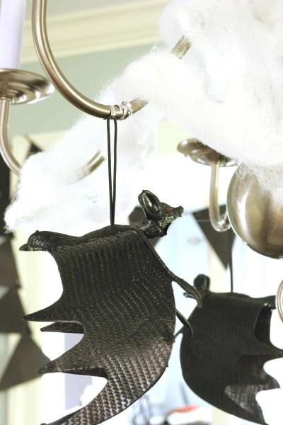 Cheap Halloween Decorations-flying bats