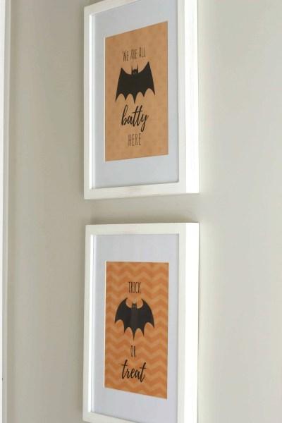 Cheap Halloween decorations-FREE Prints