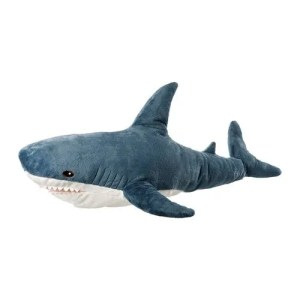 Blahaj soft shark toy ikea