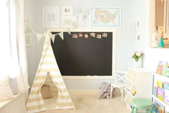 cozy and quaint playroom