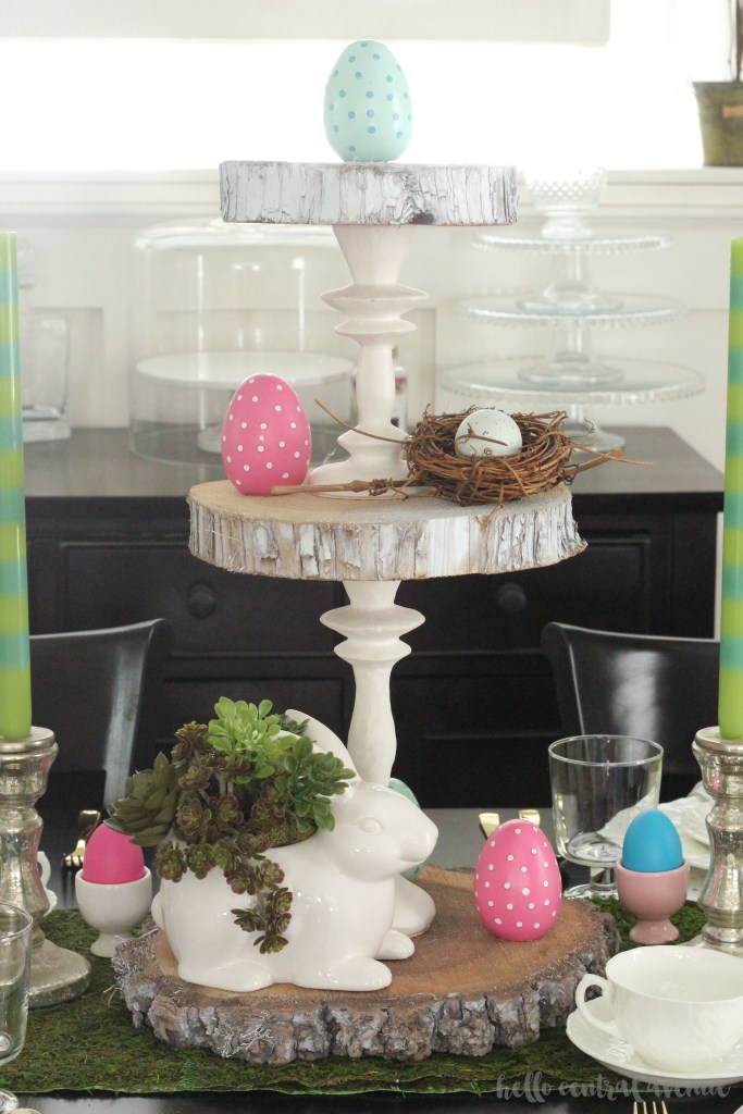 How to Make a Three-Tiered Stand…the Easy Way!
