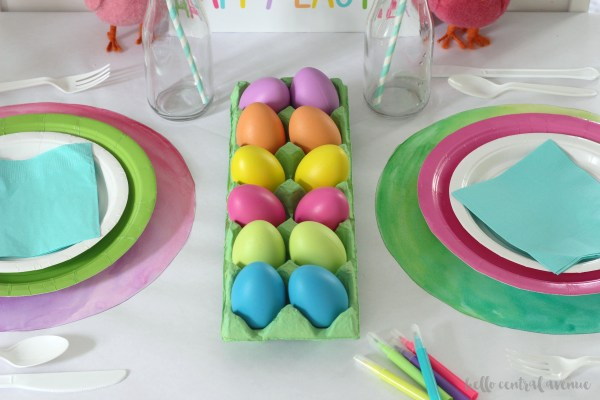 Kid's Easter Table 1