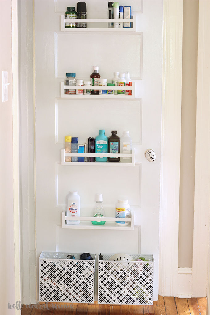 Ikea Spice Rack Hack for Your Linen Closet