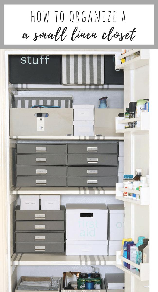Check Out Some Creative Ways To Label Your Linen Closet. Linen Closet  Storage Labels Come