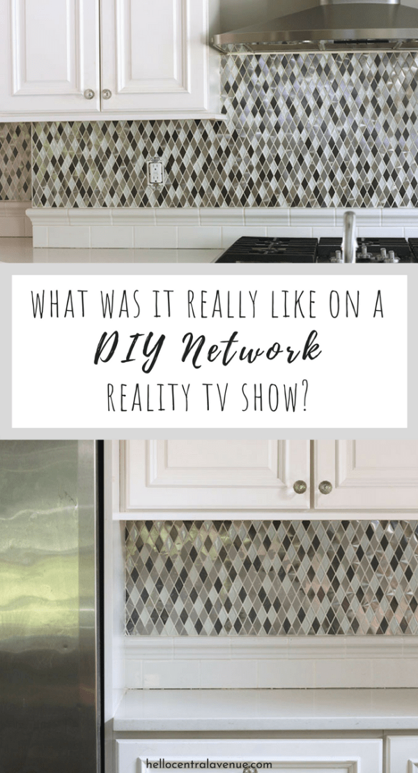 My husband and I are basically celebrities.  I mean, we were on the DIY Network!  If you are not familiar with the DIY Network, I'm surprised to find you here!  It is a cable network devoted to Do It Yourself projects.  Read on to find out what our show was about and more stuff from behind the scenes!