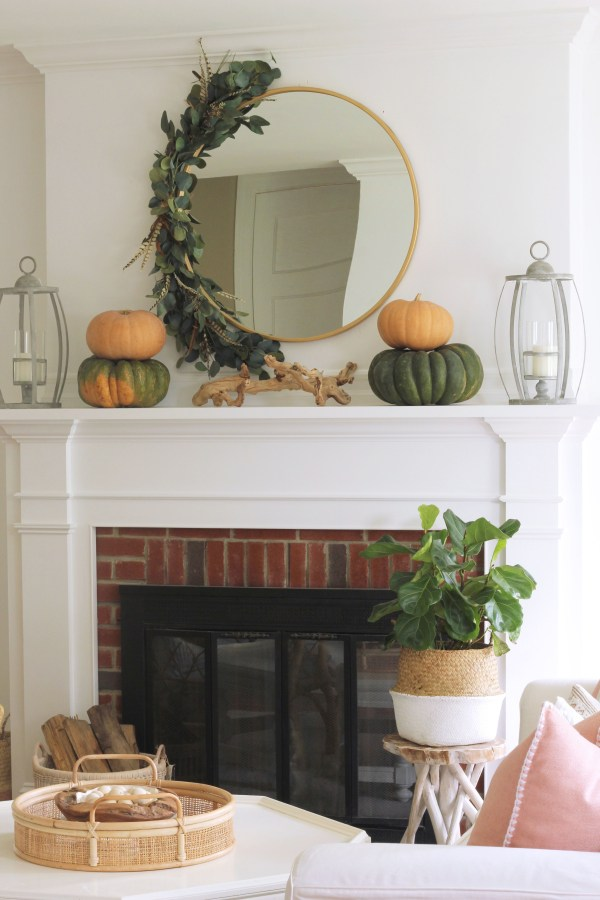 If you are looking for an easy way to make a big impact on your fall decorating this year, then this DIY fall swag wreath is for you! It is made of different faux materials that are perfect for fall!